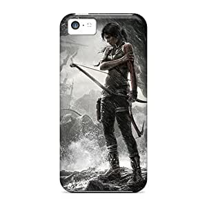 Hot Fashion HOG23264nYpX Design Cases Covers For Iphone 5c Protective Cases (tomb Raider Game)