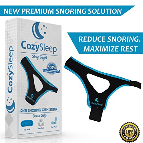 CozySleep Anti Snoring Chin Strap Bundle - Anti Snore Devices - Anti Snore Chin Strap - Effective Anti Snoring Solution - Snore Stopper - Stop Snoring - Cpap Chin Strap