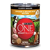 Purina ONE SmartBlend Wet Dog Food, Classic, Groun...