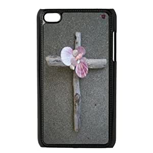 aqiloe diy C-EUR Customized Phone Case Of Jesus Christ Cross For Ipod Touch 4
