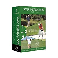 Golf Triple Pack: From Tee to Green (David Leadbetter) [Reino Unido] [DVD]