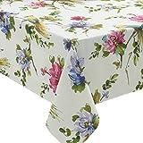 Benson Mills Valentina Indoor Outdoor Spillproof Tablecloth, 60x84