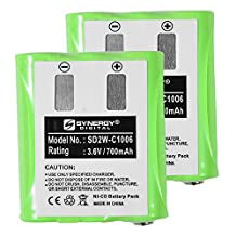 Motorola KEBT-071-D 2-Way Radio Battery Combo-Pack Includes: 2 x SD2W-C1006 Batteries