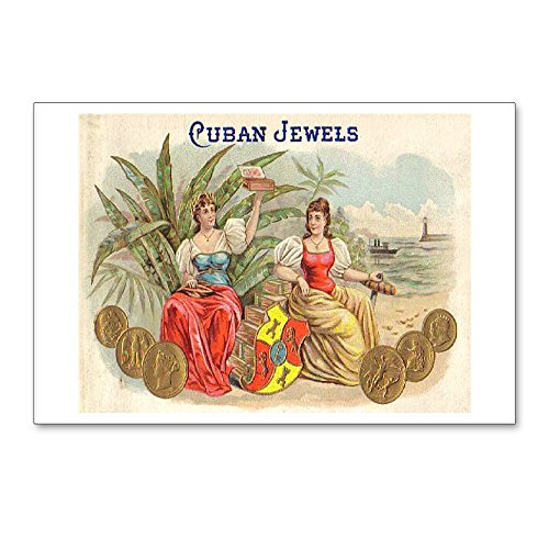 CafePress - Cuban Jewels Cigar Art - Postcards (Package of 8), 6