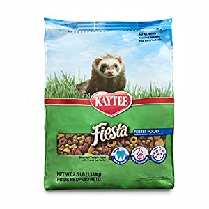 Kaytee Fiesta Ferret Food, 2.5-Lb Bag 97