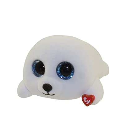 cc6ae4c74ad Image Unavailable. Image not available for. Color  TY Beanie Boos - Mini  Boo Figure - ICY the White Seal (2 inch)