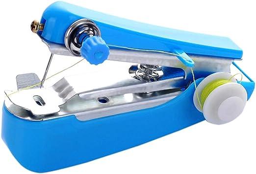 SyeRum - Máquina de coser a mano portátil, hecha a mano, máquina ...
