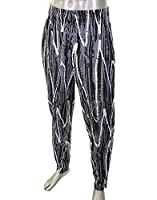 Otomix Men's Black Wax Bodybuilding Baggy Workout Pants