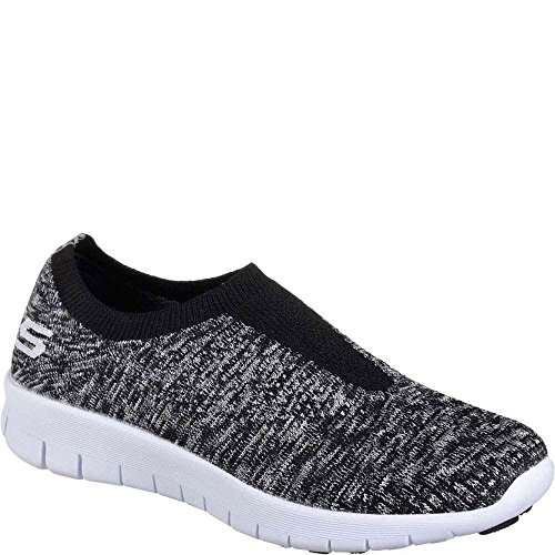 Black Bright Casual Going Skechers Easy White Women Idea vCxB1