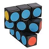 LanLan Super Floppy Cube, Black, 1 x 3 x 3