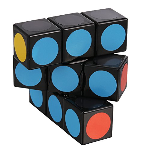 LanLan Super Floppy Cube, Black, 1 x 3 x 3