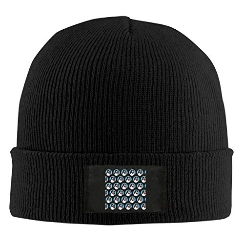 - Lineman Skull Electrician Power Unisex Knit Hat Soft Stretch Beanies Skull Cap Hedging Cap Black