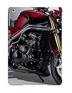 Tpu Case Cover Design Compatible For Ipad Air/ Hot Case/ Triumph Speed Triple