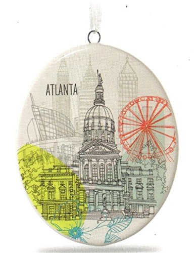 Hallmark Atlanta City Landmarks Ceramic - Canada Tracking Mail Priority