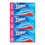 Ziploc Freezer Bags, 114 Count