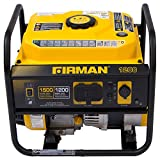 Firman P01202 1500/1200 Watt Recoil Start Gas Portable Generator cETL...
