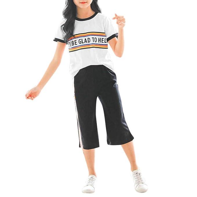 Tophappy - Conjunto de Camiseta de Manga Corta y pantalón Corto ...