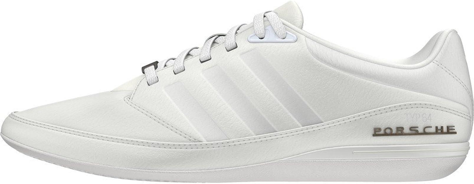 Zapatillas para hombre Adidas, Porsche Typ 64 2.0, color Blanco, talla 48 EU: Amazon.es: Zapatos y complementos
