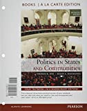 Politics in States and Communities Books a la Carte Plus MySearchLab with EText -- Access Card Package, Dye, Thomas R. and MacManus, Susan A., 0133745759