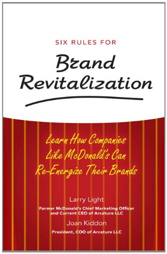 Six Rules for Brand Revitalization: Learn How Companies Like McDonald' Can Re-Energize Their - Sa Brand