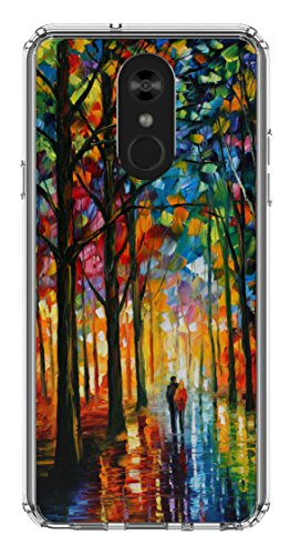 LG Stylo 4 Case, Stylus 4 Case, Ailiber Oil Painting Canvas Art Design Slim Fit Anti Scratch Shock Proof Fingerprint Lightweight Soft TPU Protector Cover for LG Stylo4 Stylus4 6.2inch (Phone Oil)