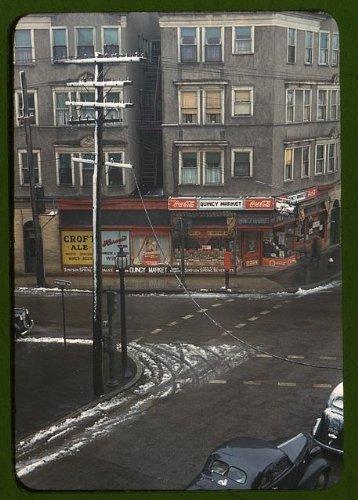 Photo: Street corner,buildings,Quincy - Quincy Market Shops