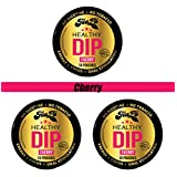 TeaZa Energy Smokeless Tobacco Alternative (3Pack) Helps You Quit Chewing Tobacco Snuff - Nicotine Free Herbal Energy Dip - Flavored Tobacco Free Chew Helps You Quit Dipping - Black Cherry