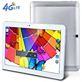 10.1 inch Tablet Octa Core 1280800 IPS Bluetooth RAM 4GB ROM 64GB 8.0MP 4G Dual sim card Phone Call Tablets PC Android 6.0 GPS electronics 4G LTE 7 9 10.6 10 silver
