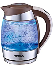 TODO Automatic Keep Warm 1.8L Glass Cordless Kettle with Temperature Control