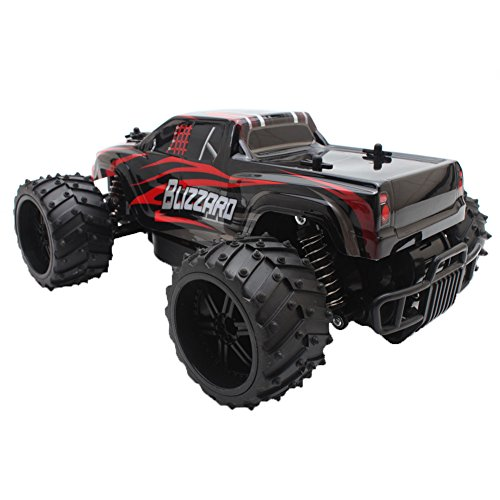 Delight eShop 2.4G 1/16 Remote Scale Control OFF-road RC Racing Car High Truck Speed Stunt (Sit In Remote Control Car)