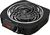 Cheap Imusa Portable Single Electric Burner. Hot Plate Stove Dorm RV Travel Cook Countertop