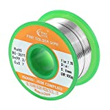 Tools & Hardware : WYCTIN 0.8mm Lead Free Solder Wire Sn99.3-Cu0.7 with Rosin Core for Electrical Repair Soldering 100g