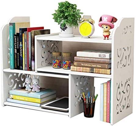 Small Bookshelf for Desktop Storage, Mini Narrow Desk Dresser White Versatility Organizers for Women, Kids, Men for Cute Office Decor Accessories