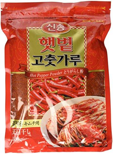 (Singsong Korean Hot Pepper Coarse Type Powder, 1.10 Pound)