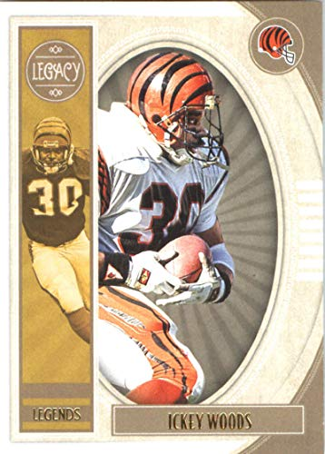 2019 Panini Legacy #137 Ickey Woods NM-MT Cincinnati Bengals Officially Licensed NFL Football Trading Card