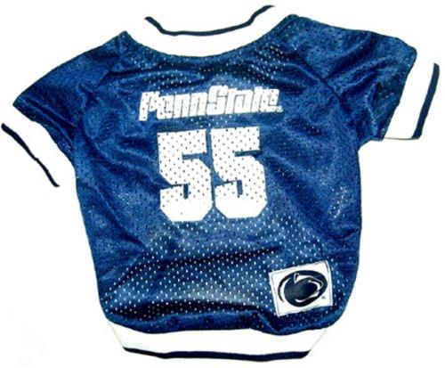 NCAA Dog Jersey, Medium, Penn State University Nittany Lions