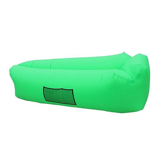 Sofá hinchable para exterior, sofá hinchable de aire portátil ...