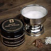 Jabón Espumoso para afeitar Growth Beard con ingredientes naturales