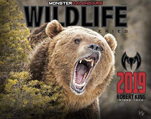 2019 Wildlife Calendar by Monster Calendars/Robert King -