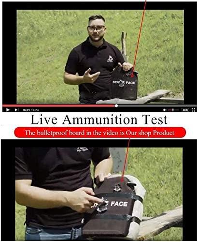 Heman779t 2.3mm Plaque Pare-balles Plaque dacier Plaque de Poitrine Anti-Coupure Anti-Tige GA Protection /à Trois Niveaux anti-79 Micro-Rush 3A