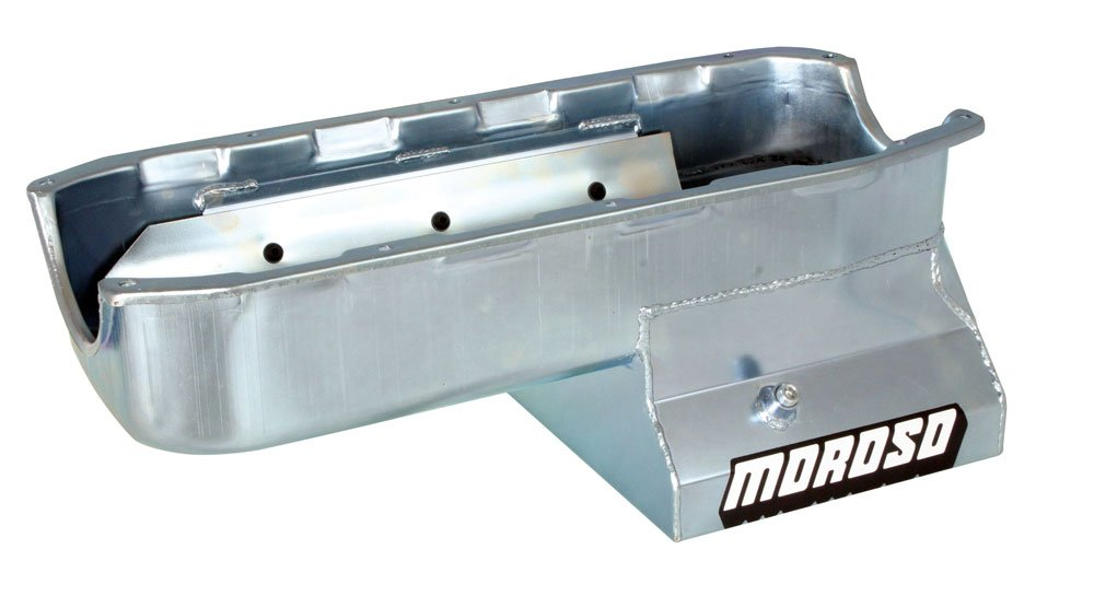 MOROSO 20196 8.25'' Oil Pan With Tray For Chevy Small-Block Stroker Engines