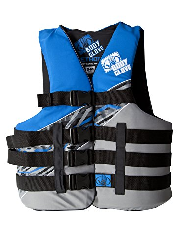 Body Glove Method U.S. Coast Guard Approved Neoprene PFD Life Jacket Vest, Blue, XX-Large/3X-Large