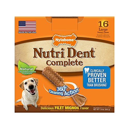 - Nutri Dent Limited Ingredient Dental Dog Chews, Large (up to 50 lbs)