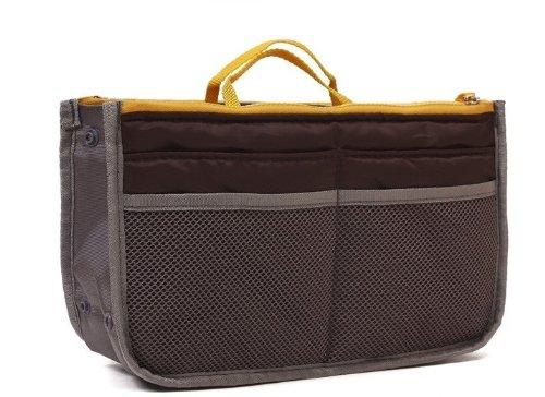 Bolso lenceria viajes usos para varios de Organizador mano gris diversos objetos NEGRO 4xqrF4