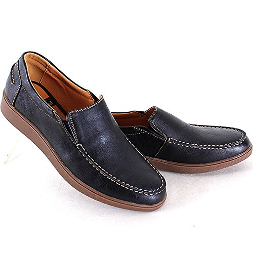 Athletic Shoes Sneakers Polytec Black Men Casual New on Dress Slip Fashion Loafers Comfort 8qdqnH