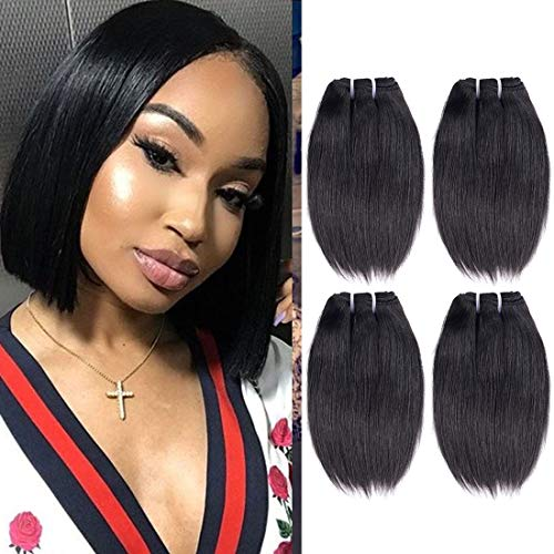 - Liang Dian 8A Brazilian Straight Hair 4 Bundles (8