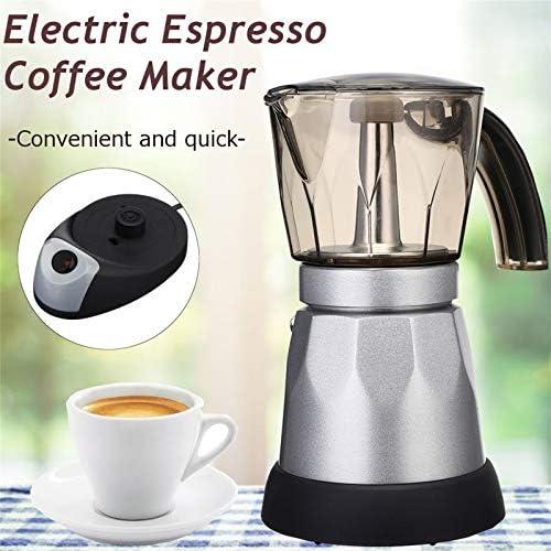LIUSU-Walker Machine À Café Espressimo Barista, Capacité Élevée 300Ml De Machine À Café d'acier Inoxydable De Haute Performance 400W