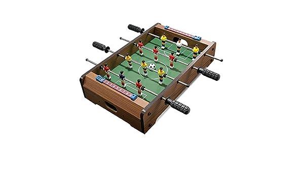 Yamyannie-Sports Mesa de futbolín Juego de fútbol Tabla W/balones ...