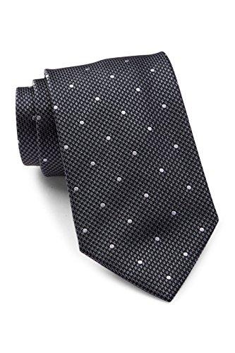 Hugo Boss Men's Textured Dot Italian Silk Tie, OS, (Hugo Boss Silk)