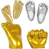 YeahiBaby 3D Plaster Handprints Footprints Baby Hand Foot Casting Kit DIY Keepsake Gift